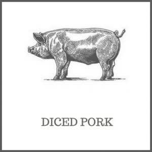 Diced Pork