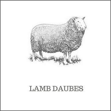 Lamb Daubes