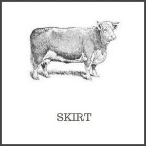 Skirt of beef