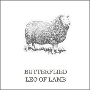 Butterflied Leg of Leg