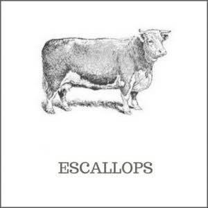 Escallops of beef